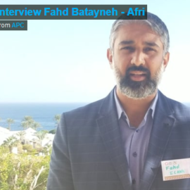 Interview Fahd Batayneh – Stakeholder and Engagement Manager at ICANN
