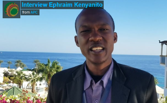 Interview Ephraim Kenyanito – Digital Program Officer at Article19 Eastern Africa