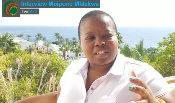 Interview Moipone Mhlekwa – AfriSIG2017