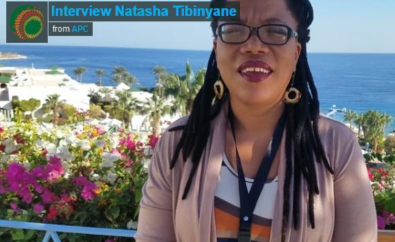 Interview Natasha Tibinyane – AfriSIG2017