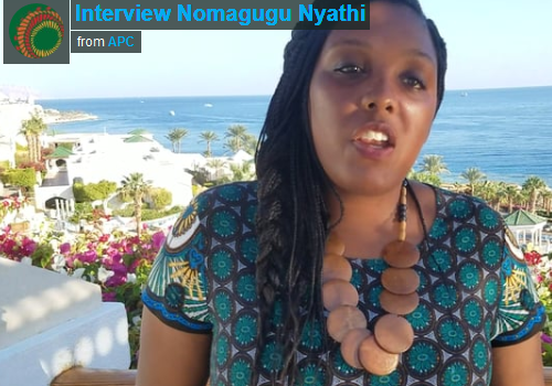 Interview Nomagugu Nyathi – AfriSIG2017