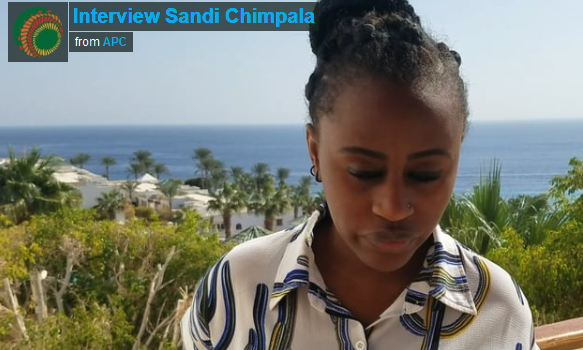 Interview Sandi Chimpala – AfriSIG2017