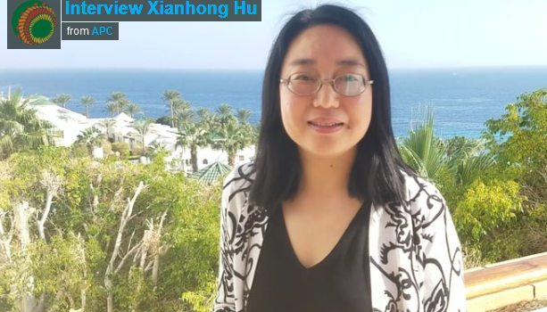 Interview Xianhong Hu – Program Specialist in Communication and Information at UNESCO